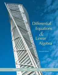 Differential Equations and Linear Algebra 2nd edition 9780131860612 0131860615