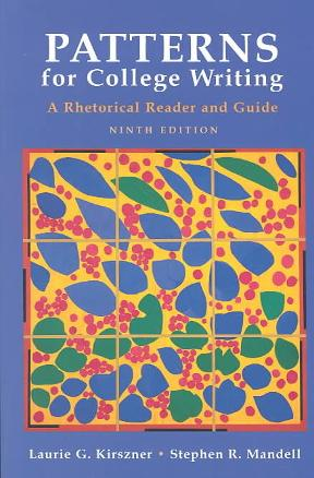 Patterns for College Writing A Rhetorical Reader and Guide A Simple Patterns For College Writing