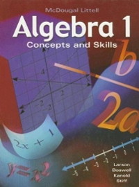 Algebra 1, Grades 9-12 Concepts & Skills (0th) edition 9780618374205 0618374205