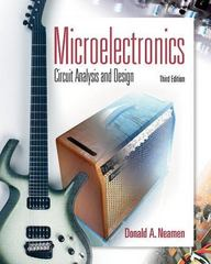 Microelectronics Circuit Analysis and Design 3rd edition 9780073285962 007328596X