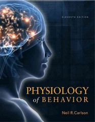 Physiology of Behavior 11th Edition 9780205239399 0205239390
