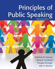 Principles of Public Speaking 18th Edition 9780205211845 0205211844