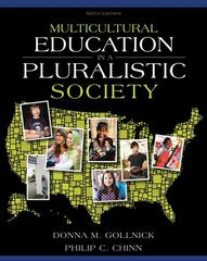 Multicultural Education in a Pluralistic Society 9th Edition 9780137035090 0137035098