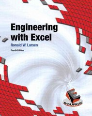 Engineering with Excel 4th edition 9780132788656 0132788659