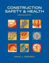 Construction Safety & Health (2nd) edition 0132374692 9780132374699