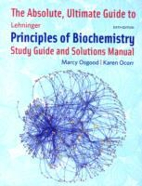 the absolute ultimate guide to lehninger principles of biochemistry rh chegg com Math Solution Manual biochemistry solution manual pdf