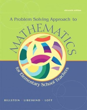 A problem solving approach to mathematics for elementary school a problem solving approach to mathematics for elementary school teachers 11th edition 9780321849250 0321849256 view textbook solutions fandeluxe Image collections