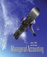 Loose-Leaf Managerial Accounting with Connect Plus 3rd edition 9780077863890 0077863895