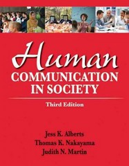 Human Communication in Society 3rd Edition 9780205029389 0205029388
