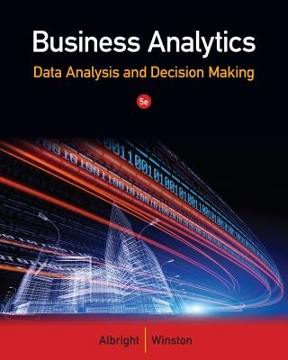 Business analytics data analysis decision making 5th edition business analytics 5th edition 9781133629603 1133629601 view textbook solutions fandeluxe Images