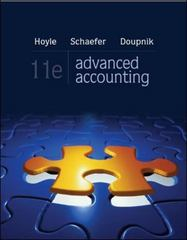Advanced Accounting 11th edition 9780078025402 0078025400
