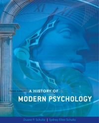A History Of Modern Psychology 10th Edition Textbook Solutions Chegg Com