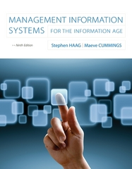 Management Information Systems for the Information Age 9th Edition 9780073376851 007337685X