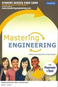 MasteringEngineering with Pearson eText -- Access Card -- for Engineering Mechanics (13th) edition 132915782 9780132915786