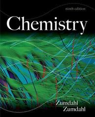 Chemistry 9th Edition 9781133611097 1133611095