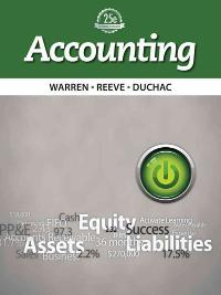 Study Guide, Chapters 1-17 for Warren/Reeve/Duchac's Accounting, 25th and Financial Accounting (25th) edition 128595078X 9781285950785