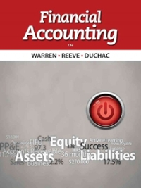 Financial accounting (13th) edition 1133607616 9781133607618