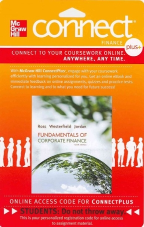 Connect 1 semester access card for fundamentals of corporate finance connect 1 semester access card for fundamentals of corporate finance 11th edition fandeluxe Image collections