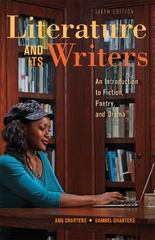 Literature and Its Writers 6th Edition 9781457606472 145760647X