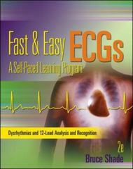 Fast and Easy ECGs 2nd Edition 9780073519753 0073519758