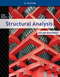 structural analysis si edition 5th edition textbook solutions rh chegg com structural analysis aslam kassimali solution manual pdf structural analysis aslam kassimali solution manual