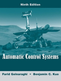 Automatic Control Systems (9th) edition 0470048964 9780470048962