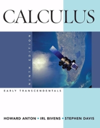 Calculus Early Transcendentals Combined 9th edition 9780470183458 0470183454