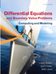 Differential Equations and Boundary Value Problems 5th Edition 9780321796981 0321796985