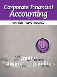 Corporate Financial Accounting (12th) edition 9781285677811 1285677811