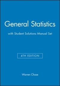 general statistics 4e with student solutions manual set 4th edition rh chegg com Chase Warren OPSU Chase Warren Football