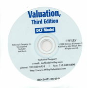 Valuation, DCF Vaulation 2000 Model Spreadsheet CD-ROM