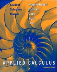 Student Solutions Manual to accompany Applied Calculus, 2nd Edition (2nd) edition 0471213624 9780471213628