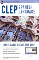 CLEP Spanish Language 2nd Edition 9780738610894 0738610895
