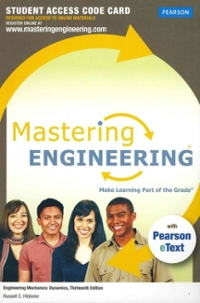 MasteringEngineering with Pearson eText -- Access Card -- for Engineering Mechanics (13th) edition 132915855 9780132915854