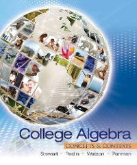 College Algebra (1st) edition 9780495387893 0495387894