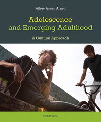 Adolescence and Emerging Adulthood 5th Edition 9780205892495 0205892493