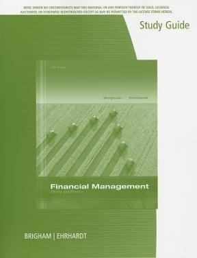 Study guide for financial management theory practice 14th edition study guide for financial management theory practice 14th edition fandeluxe Image collections