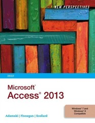 New Perspectives on Microsoft Access 2013, Brief 1st Edition 9781285099224 1285099222