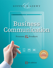 Business Communication 8th Edition 9781285094069 1285094069