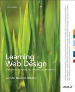 Learning Web Design 4th Edition 9781449319274 1449319270