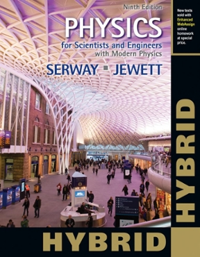 Physics for scientists and engineers with modern physics hybrid physics for scientists and engineers with modern physics hybrid with enhanced webassign homework and view textbook solutions fandeluxe Gallery
