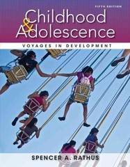 Childhood and Adolescence 5th Edition 9781133956488 1133956483
