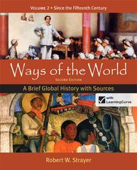 Ways of the World 2nd Edition 9780312583491 0312583494