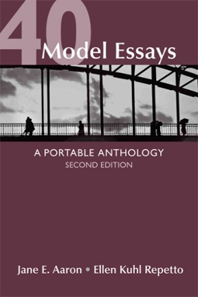 40 model essays a portable anthology 2nd edition rent