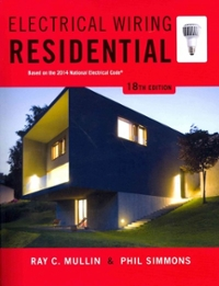 electrical wiring residential 18th edition textbook solutions rh chegg com residential wiring 18th edition answers residential wiring book answers