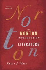The Norton Introduction to Literature 11th Edition 9780393913385 0393913384