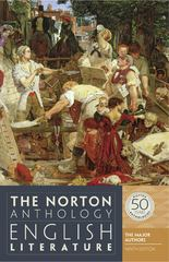 The Norton Anthology of English Literature, The Major Authors 9th Edition 9780393919639 0393919633
