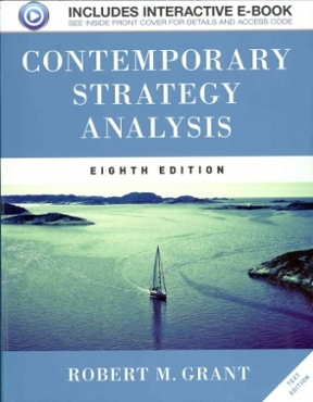 grant r m 2013 contemporary strategy analysis External analysis as a part of swot analysis the following text focuses on external analysis as a part of the swot analysis - it contents and methods that can be the base for identifying opportunities and threats for the selected organization.