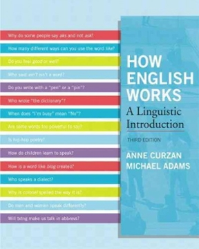 How English Works: A Linguistic Introduction Plus MySearchLab -- Access Card Package (3rd Edition)
