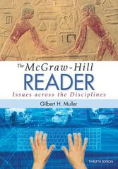 The McGraw-Hill Reader 12th Edition 9780073405988 0073405981